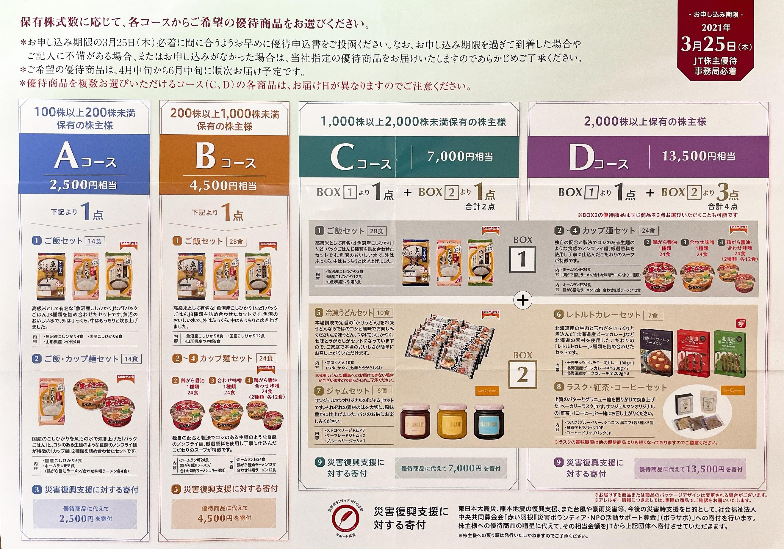 配当 日本たばこ産業 高配当株「JT(2914)」の配当権利日・振り込み日はいつ?株主優待は?